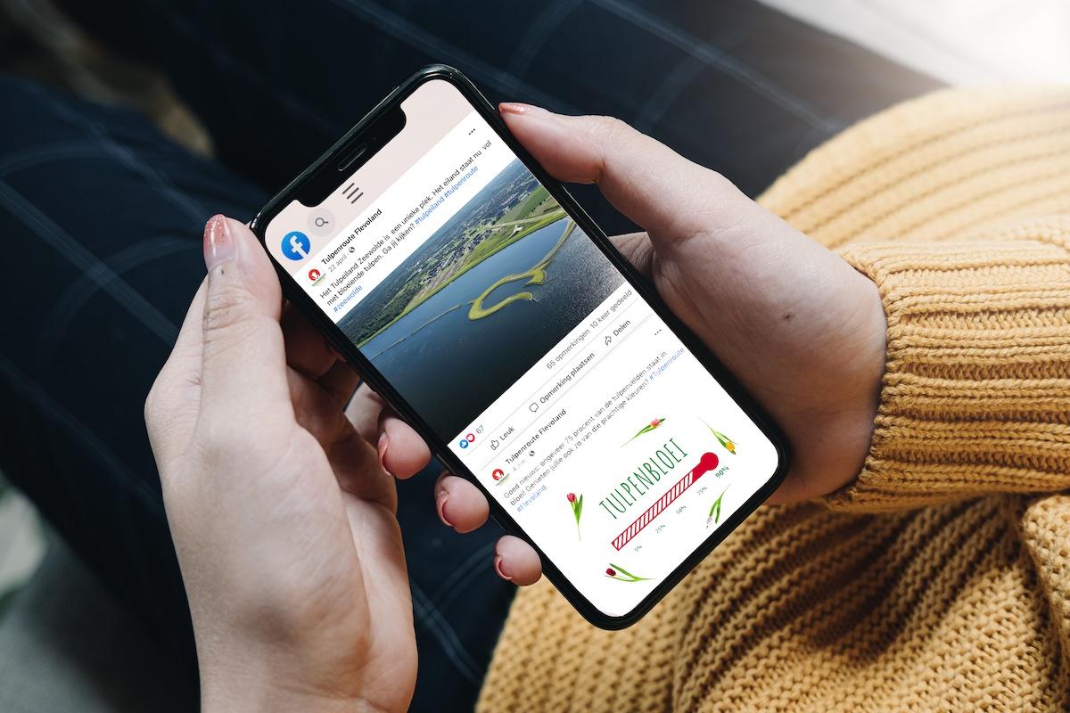 Flow Media - Tulpenroute Flevoland communicatie