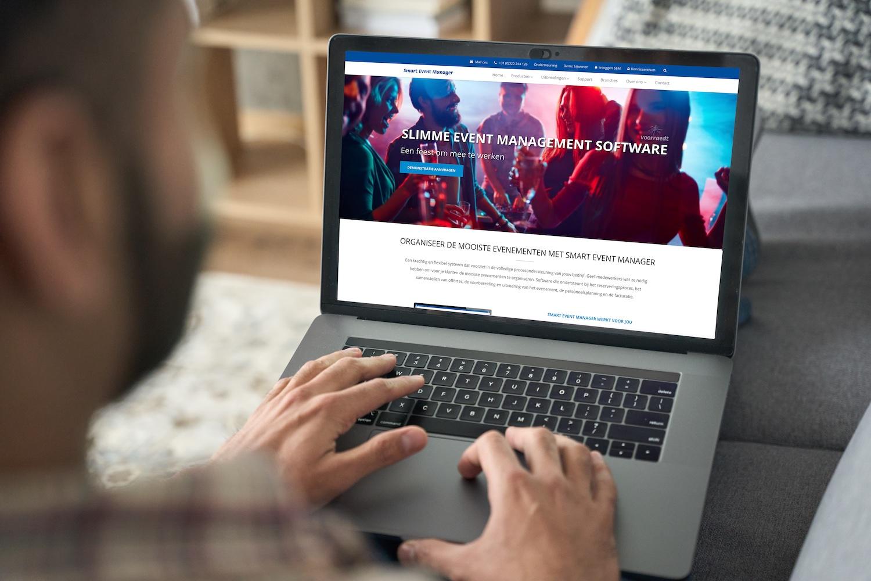 Flow Media - Voorraedt Smart Event Manager websiteteksten